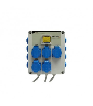GSE TIMER BOX II 12X600W + PRISE CHAUFFAGE