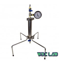 "COLONNE D'EXTRACTION VEGETALE PRESSURISE BDC.LAB 1.5"" x 8"""