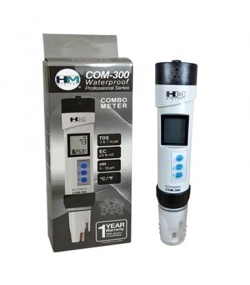 TESTEUR PH/EC ETANCHE HM DIGITAL COM_300