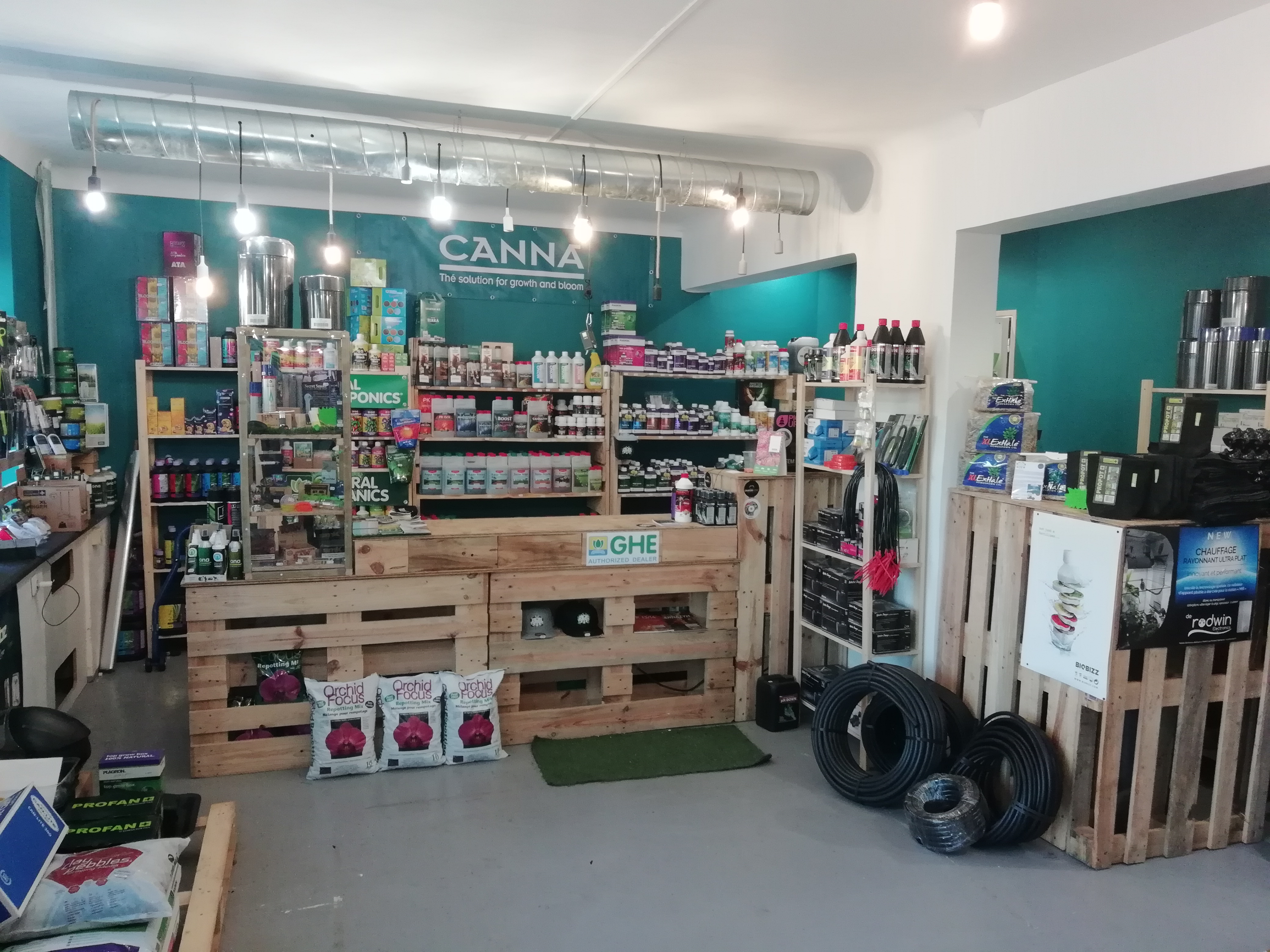 Comptoir engrais headshop growshop paris