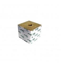 CUBE GRODAN DE LAINE DE ROCHE 10x10x6.5 Gros Trou