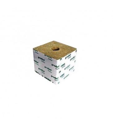 CUBE DE LAINE DE ROCHE 10x10x6.5 Gros Trou