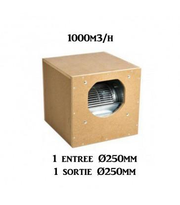 AIR BOX ONE ECO MDF-BOX 43X43X43 1000M3 250MM