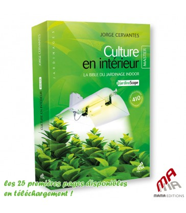 LIVRE CULTURE EN INTERIEUR MASTER EDITION par Georges Cervantes