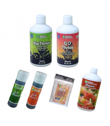 PACK GENERAL ORGANIC 500ml+ ADDITIFS 30ml