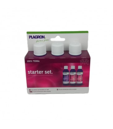 MINI STARTER PACK PLAGRON TERRA 3x50ML