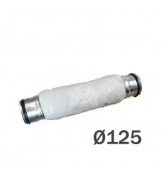 SILENCIEUX SOUPLE FLANGE METAL Ø125mm