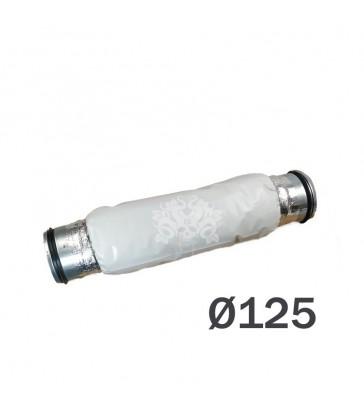 silencieux 125mm pour extracteur d'air