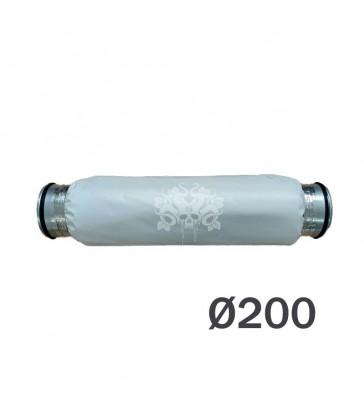 SILENCIEUX SOUPLE 203 50CM