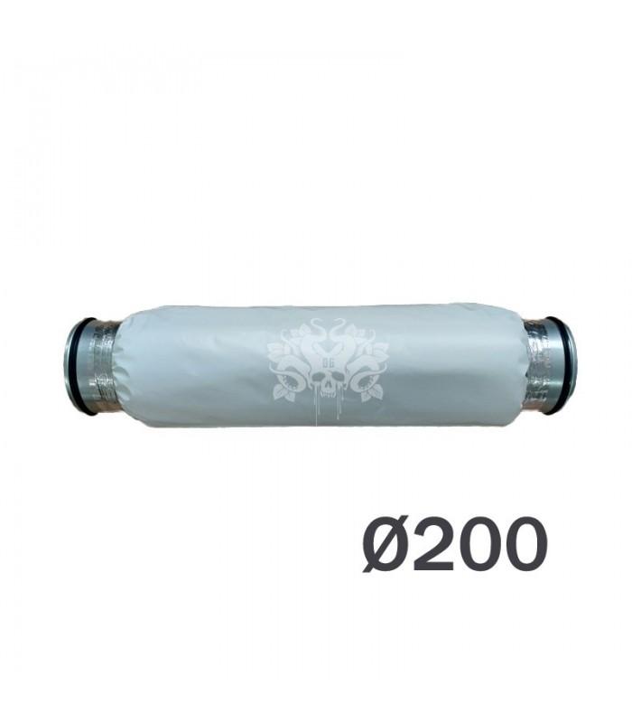 silencieux diametre 200mm pour extracteur d'air