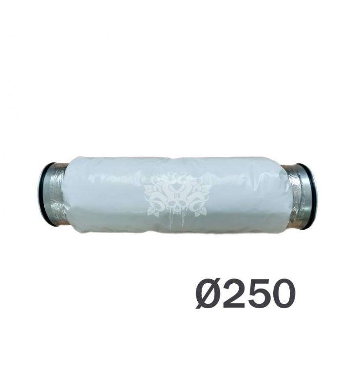 silencieux diametre 250mm pour extracteur d'air