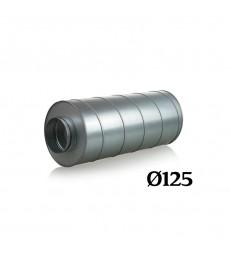 SILENCIEUX METAL Ø125/600mm