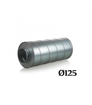 SILENCIEUX METAL 125/600 SR 125