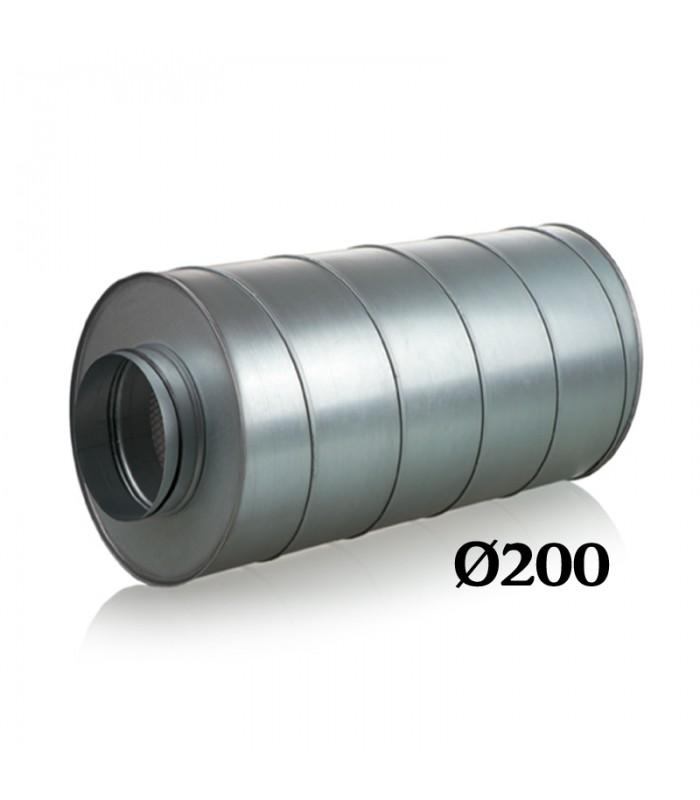 SILENCIEUX METAL Ø200/600