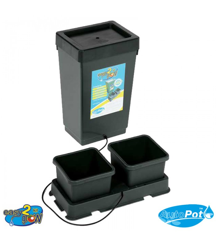 AutoPot Easy2Grow Kit 2 pots + Réservoir