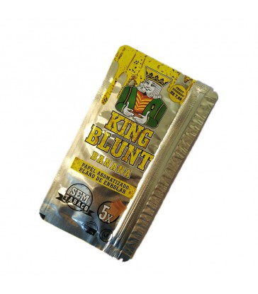 KING BLUNT BANANE x5 (SANS TABAC)