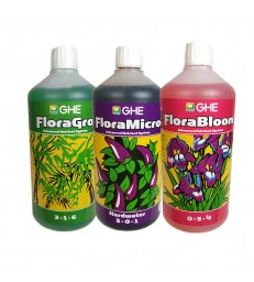 BASE MINERALE GHE TRI-PART 1L ( GRO-MICRO-BLOOM)