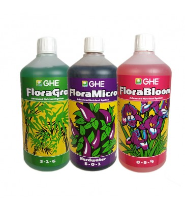 BASE MINERALE GHE TRI-PART 1L ( GRO-MICRO-BLOOOM)