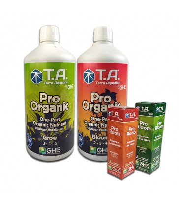 PACK PRO ORGANIC 500ml + STIMULATEURS