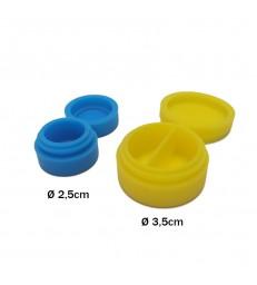 BOITES SILICONE 2.5cm/3.5cm