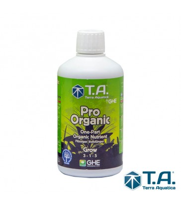 T. Aquatica - Pro organic ( thrive ) grow 500