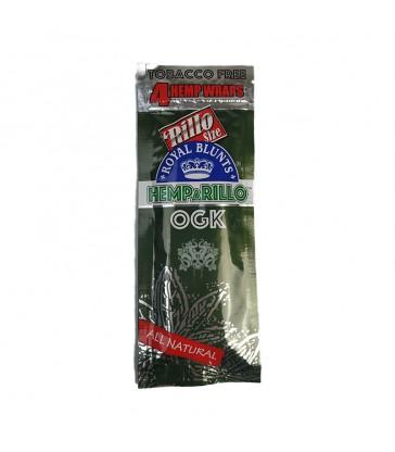 BLUNTS DE CHANVRE HEMPARILLO OGK SACHET DE 4