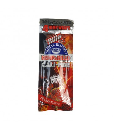 BLUNTS DE CHANVRE HEMPARILLO CALI-FIRE SACHET DE 4