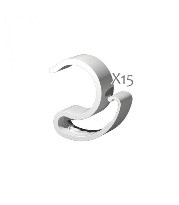 Secret Jardin - Cable IT Ø16mm - Clips pour câbles