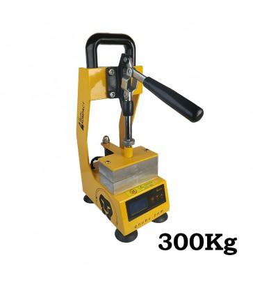 PRESSE ROSIN MANUELLE 300 KILOS - Plaque 6x12cm