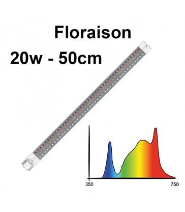 COSMORROW TUBE LED  50cm FLORAISON 20W ETANCHE