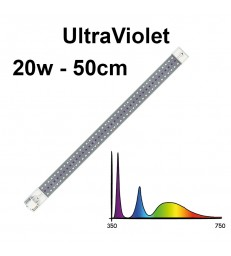 COSMORROW TUBE LED  50cm ULTRAVIOLET 20W ETANCHE
