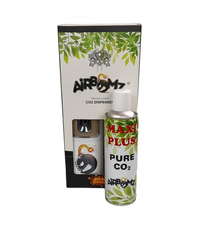 AIRBOMZ kit avec bouteille maxi  - DIFFUSEUR CO2 AVEC TELECOMMANDE ET CAPTEUR DE LUMIERE