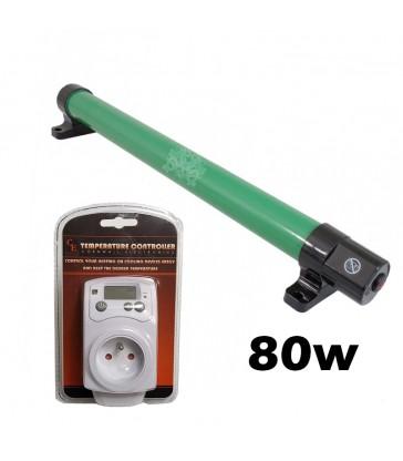 PACK Thermostat + Barre Chauffante 80W