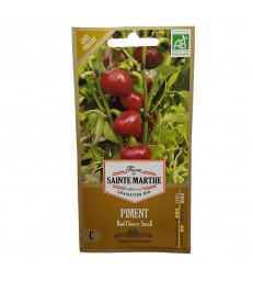 GRAINES BIO - PIMENTS RED CHERRY SMALL