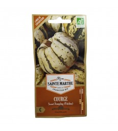 GRAINES BIO - COURGE SWEET DUMPLING (PATIDOU)