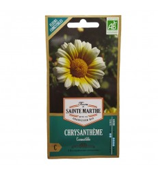 GRAINES BIO - CHRYSANTHEMES COMESTIBLES
