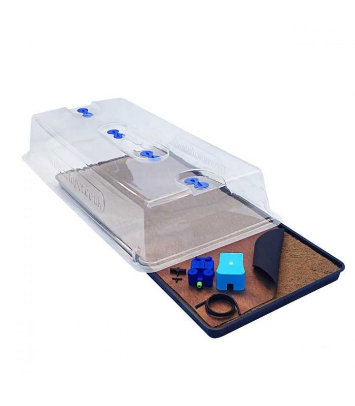 GRANDE SERRE CHAUFFANTE AVEC THERMOSTAT REGLABLE Nutriculture Heat Propagator