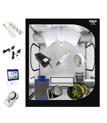 PACK COMPLET BBS 120x120 - ECLAIRAGE HPS 600w MAGNETIQUE CLASSE 2