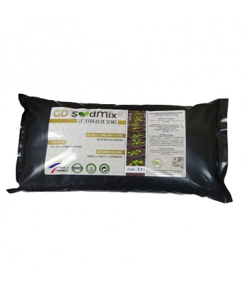 SEED MIX GUANODIFF 2.5L SUBSTRAT POUR SEMIS