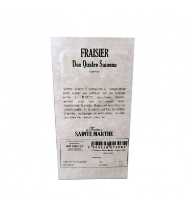 GRAINES NT - FRAISIER DES 4 SAISONS