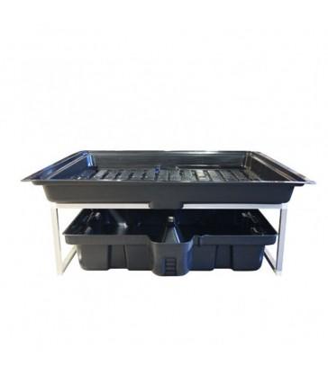 TABLE A MAREE QUALIPLAST 120X120 FLOWTABLE 4 X 4