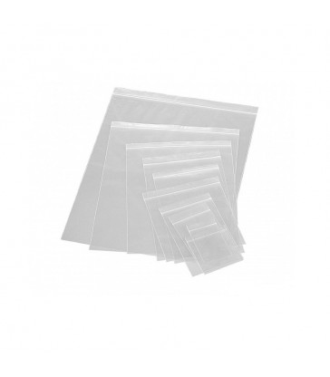 SACHETS ZIP 50µ 40X60mm x100
