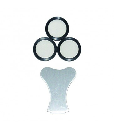 CERAMIC TEFLON 20MM PAR LOT DE 3 PC